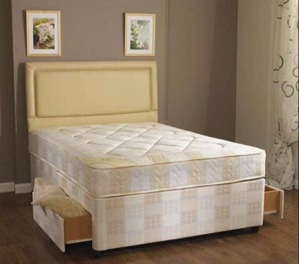 Fast Delivery Double Divan Semi Orthopaedic Bed