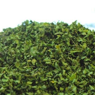 400 g Bio Moringa + Graviola Blattschnitt Tee aus Teneriffa / Kloster Rohkost Q.