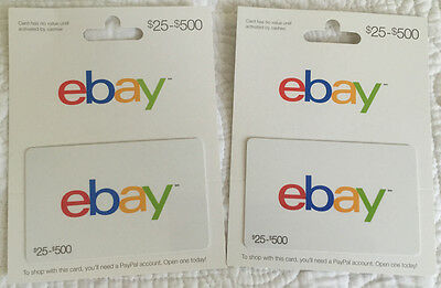 How To Buy And Use Ebay Gift Cards Ebay