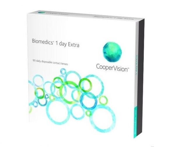 Biomedics 1 Day Tageslinsen Cooper Vision 30, 60, 90, 180 Linsen