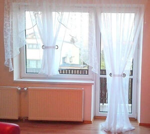 Balkon Gardine  eBay