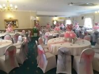 wedding chair covers pontypridd walmart flip cover sashes gumtree and sash bows