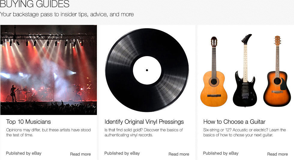Buying Guides | Your backstage pass to insider tips, advice, and more