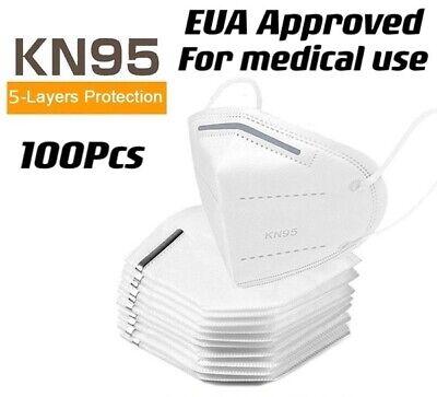 100Pcs MEDICAL KN95 Protective 5 Layer Face Mask BFE 95% Disposable Respirator