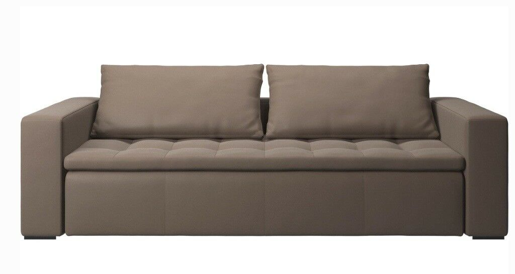 sofa london gumtree calligaris metro excellent condition hermes leather mezzo by bo concept in