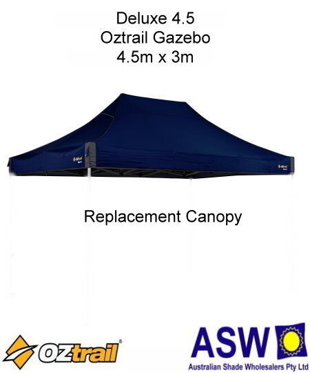 4 5m X 3m Blue Gazebo Replacement