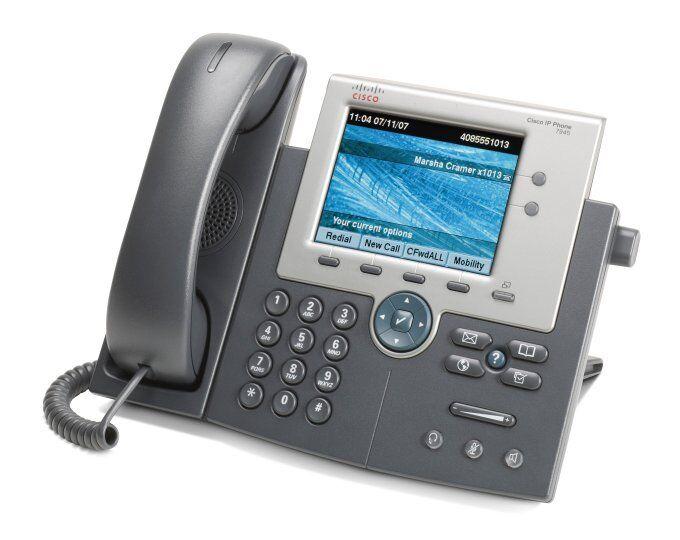 Cisco IP 7945 IP Telefon / Cisco 7945 G VOIP Telefon (OHNE NETZTEIL!!)