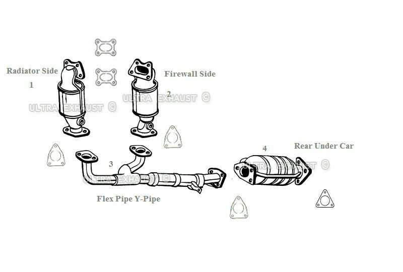 honda odyssey exhaust system diagram vectra abs wiring 2004 parts online 2003 fuse