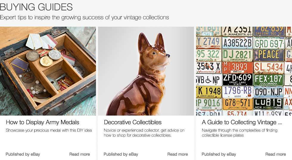 Buying Guides | Expert tips to inspire the growing success of your vintage collections