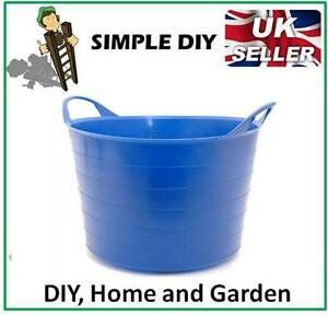 garden bucket flexible rubber storage