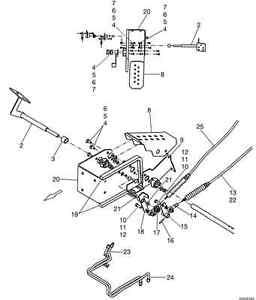 New Holland Skid Steer Foot Throttle C175 L160 L170 L175