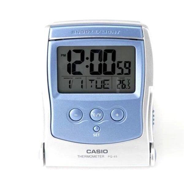 Alarm Clock Thermometer Led Light Pq