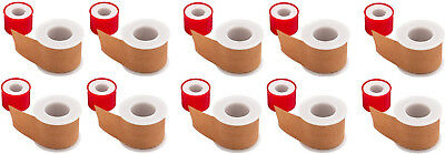 10 er Set Rollenpflaster 2,5 cm x 2,5 m Pflaster Fixierpflaster Heftpflaster