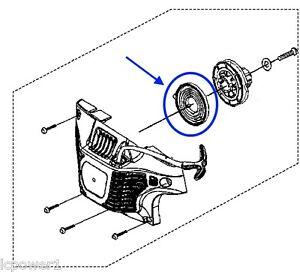 308066001 Homelite Ryobi 38cc 45cc Chainsaw Recoil Starter
