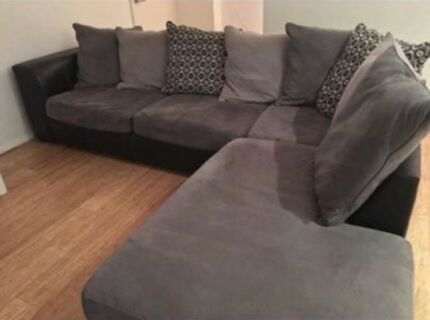 harvey norman york sofa bed with chaise burgundy set lounge sofas gumtree australia gosnells area