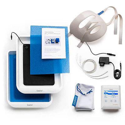 Saalio® FA Set Iontophorese Gerät gegen Schwitzen im Gesicht und an Händen Füßen