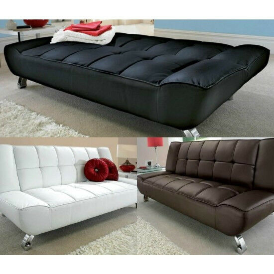 twin sofa bed leather set for sale in dubai 3 seater modern design boxed sleeper
