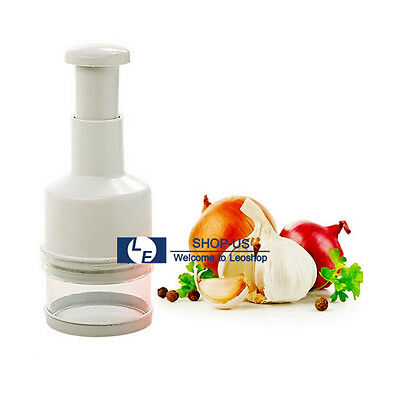 New Pressing Vegetable Garlic Onion Food Chopper Cutter Slicer Peeler Dicer