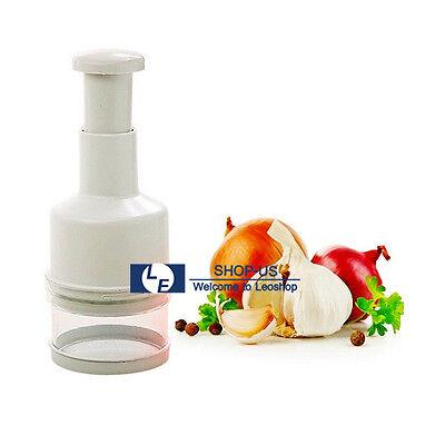 New Pressing Vegetable Garlic Onion Food Chopper Cutter Slicer Peeler Dicer