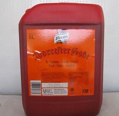 Knorr Worcestersauce 5 Liter Kanister