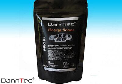 Rostentferner Rostlöser Metallentroster Rostumwandler  Probe 100 ml.