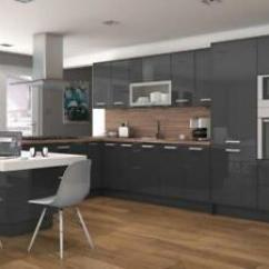 Cheap Unfinished Kitchen Cabinets Cabinet Parts Ebay Delight Glossy Gray Modern As Lowest Price