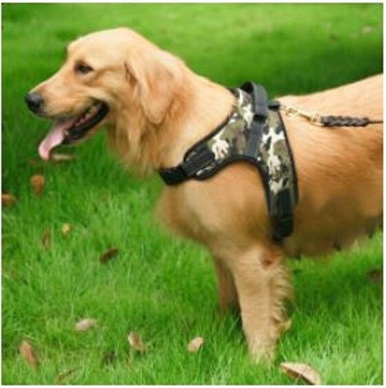 No Pull Adjustable Dog Pet Vest Harness Quality Nylon Small/Medium/Large/XL XXL 9
