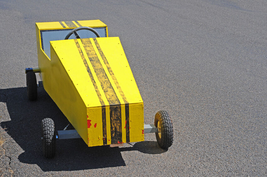 How To Build A Soap Box Derby Car Ebay