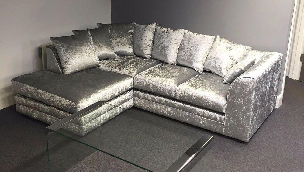 sofa beds for motorhomes sectional sofas under 500 special crushed velvet range | in barrhead, glasgow ...