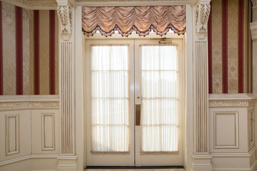 How to Hang French Door Curtains