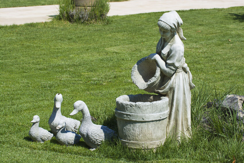 Yard Statues And Fountains
