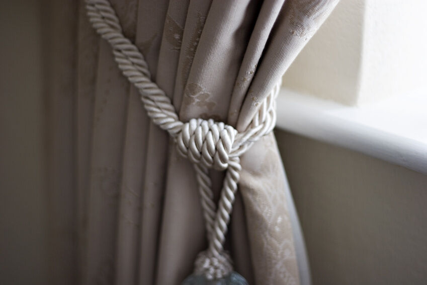 How To Put Up Curtain Tie Back Hooks | Functionalities.net
