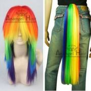free hair cap little pony rainbow