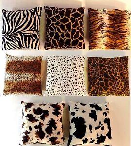 Federa cuscino Ecopelliccia Africa Safari 35x3540x4050x5040x6060x6080x80 e  eBay