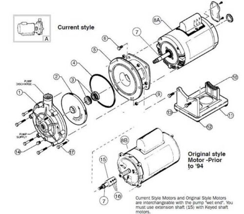 Polaris PB4-60 Booster Pool Pump Seal Volute O'ring