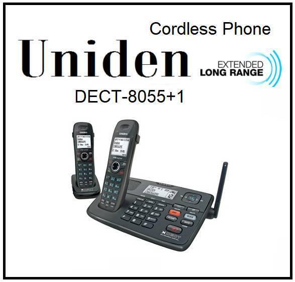 Uniden Dect 8055+1 Extended Digital Technology Cordless