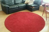 Ikea Red Circle Rug | Euffslemani.com