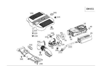 Luftfilter für Mercedes W166 (ML)