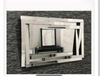 Large multi frame modern mirror | in Dinnington, South ...