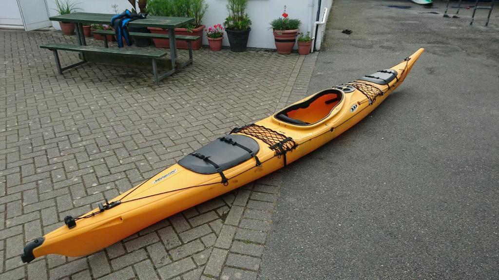 office chair rowing cypress adirondack chairs prijon seayak sea kayak | in st austell, cornwall gumtree