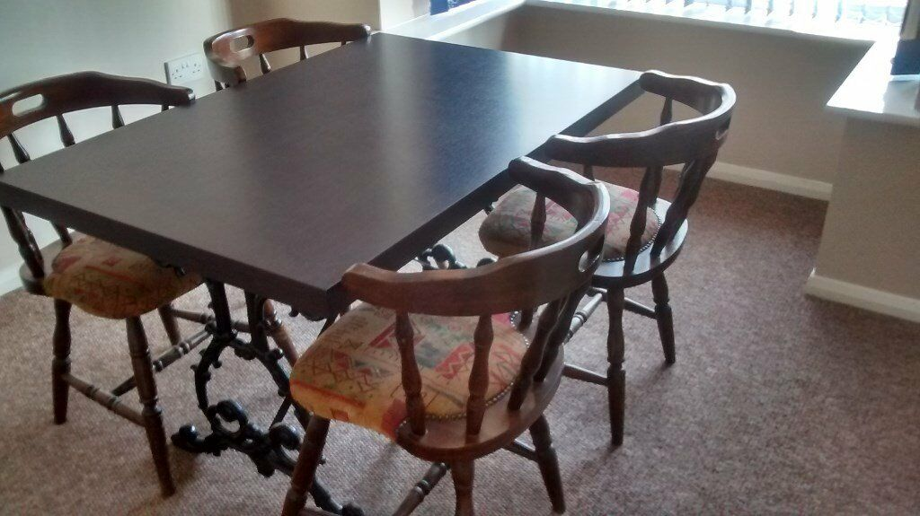 Dining Room Table And Four Chairs For Sale