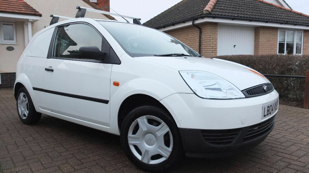 Ford Fiesta Van with roof rack
