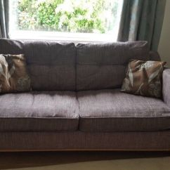 Doc Mcstuffin Chair Lift Stairs Medicare Dfs 3 Seater Sofa Bed In Brown Very Comfortable, Good Condition, Well Looked After | ...