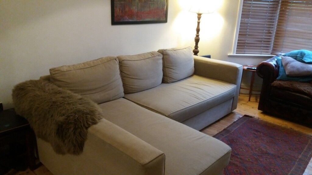 corner sofa bed east london leather in philippines ikea good condition