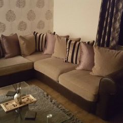 Posture Chair Gumtree Covers Hire Gold Coast Large Corner Sofa And Pouffe For Sale | In Alexandria, West Dunbartonshire