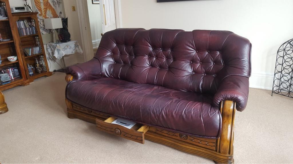 wood frame leather sofas italsofa sofa colors 2 with carved wooden frames and drawers in harrogate