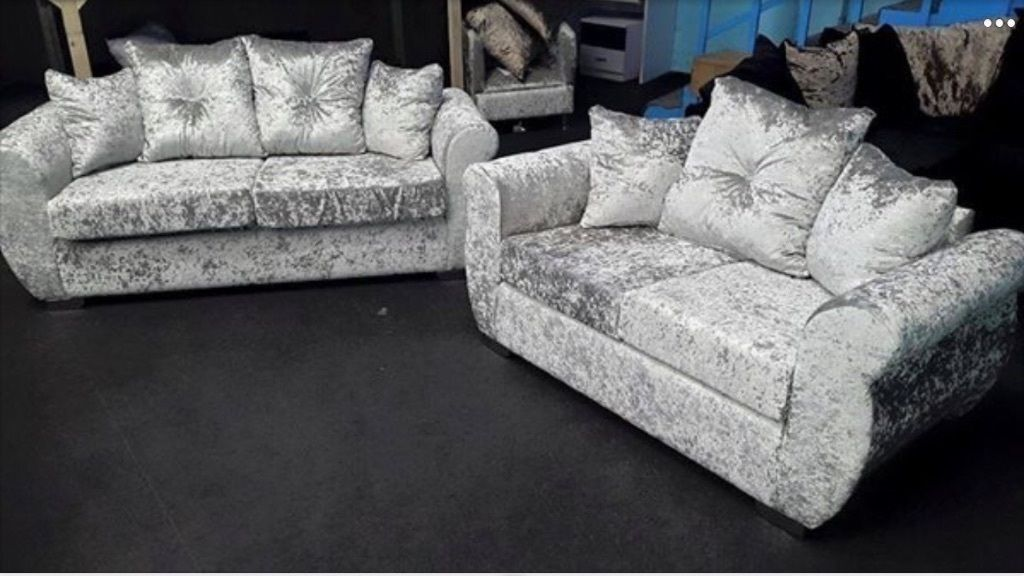 emerald corner sofa bed stanton next crushed velvet sofas silver panther crush ...