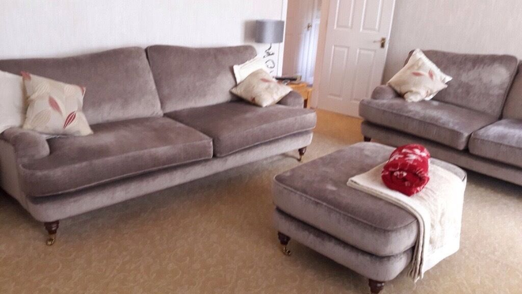 sofas laura ashley furniture light colored sectional lynden fabric grande sofa large footstool in