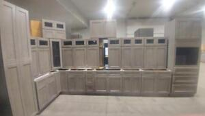 kitchen cabinets sets wall shelving units kijiji in windsor region buy sell save with new cabinet at auction