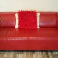 Klippan Sofa Ikea Uk How To Recover A Chair Red Leather And/or White Faux 2 ...